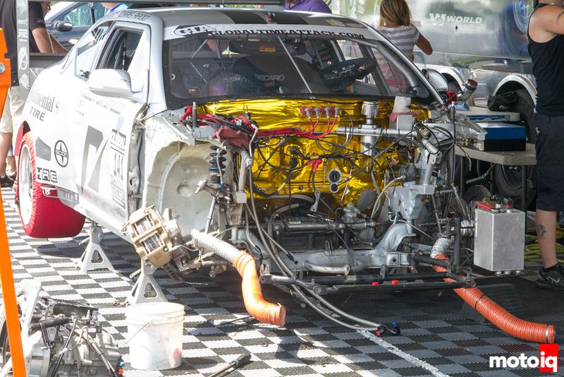 World Racing Scion TC empty engine bay NJMP