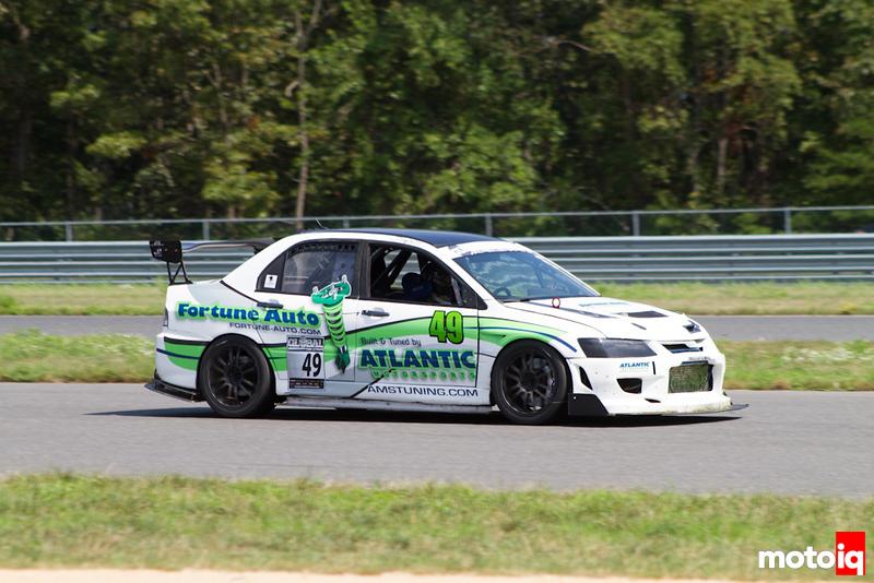 Atlantic Motorsports FOrtune Auto Evo Whit Staples