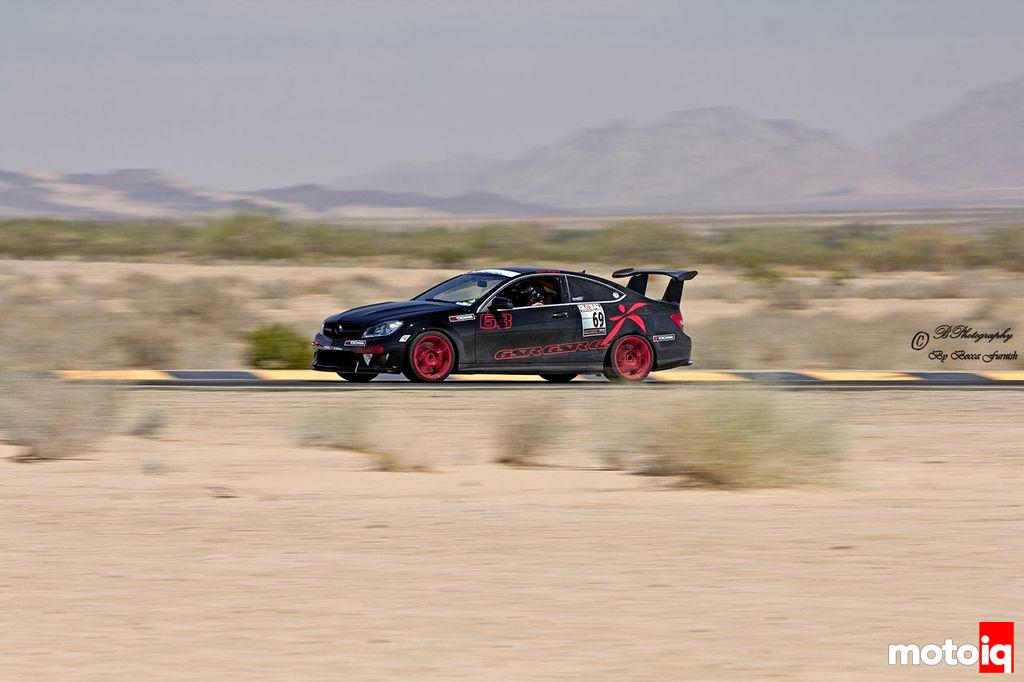 Michael Essa C63 AMG Global Time Attack Shift S3ctor Chuckwalla BPhotography