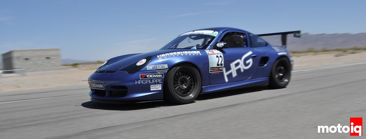 HRG Porsche Boxster Eric Oviatt Global Time Attack Pro-Am