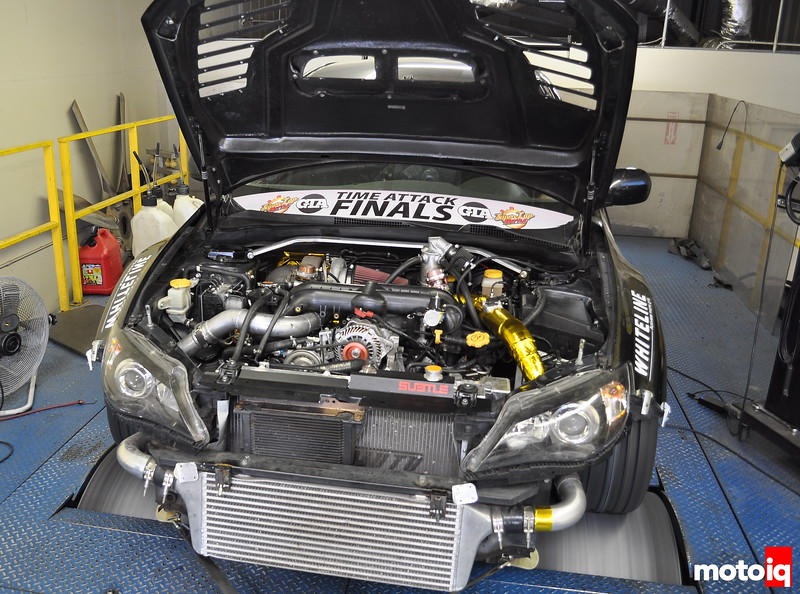 Snail Performance WRX Taylor Wilson Travis Barnes Forced Air Technoligies COntinental tire Mustang dyno