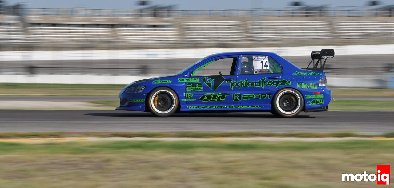UMS tuning evo Tony Szirka Global Time Attack Texas Motor Speedway