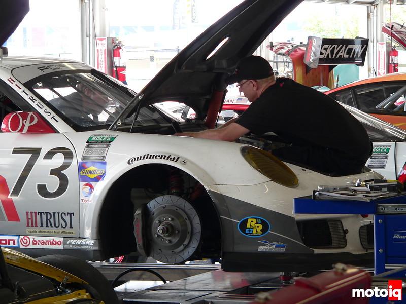 Grand Am Park Place Motorsports Porsche GT3