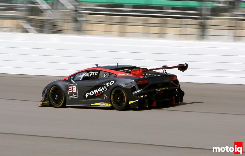Kansas Speedway Lamborghini
