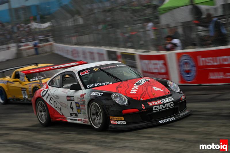 GMG Racing StopTech Porsche 911 GT3 Dino Crescintini Long Beach