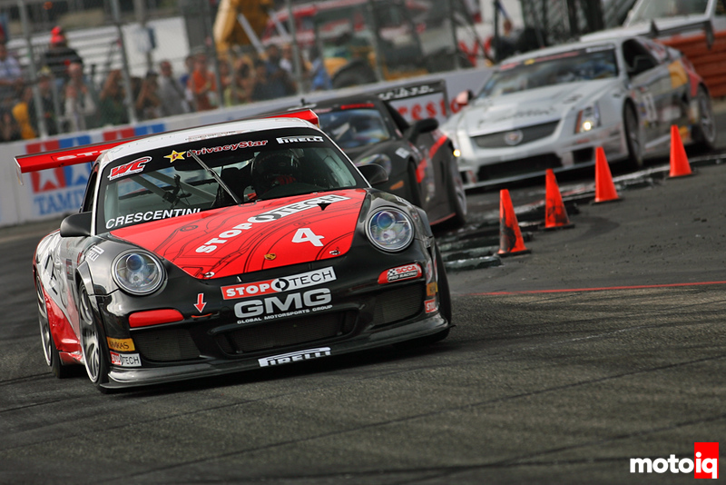 GMG Racing StopTech Porsche 911 World Challenge Dino Crescintini Long Beach