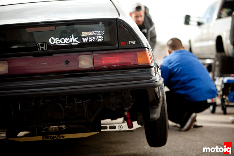 Richewerks Fiftyonefifty doing work with his newly developed CRX aka Black Mamba.