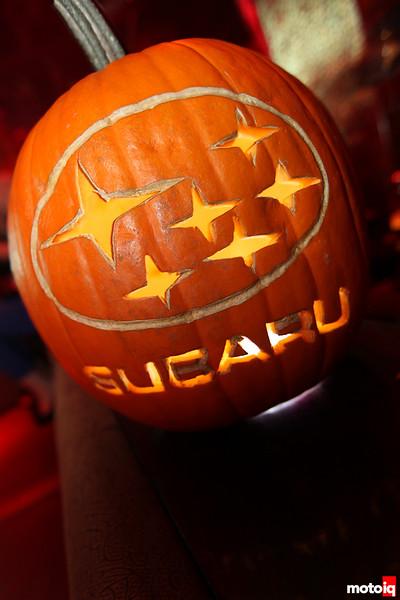 Subaru pumpkin