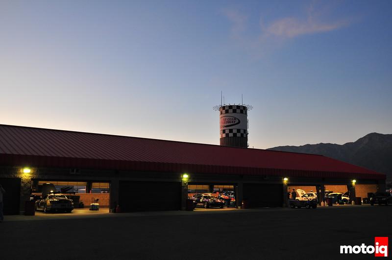 Auto Club Speedway Paddock