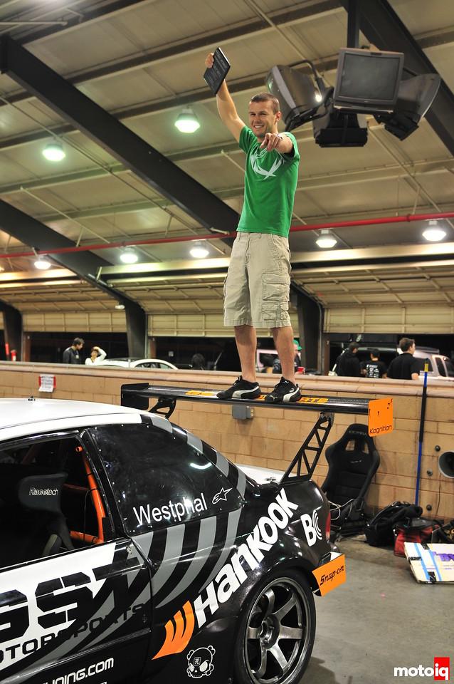 GST Motorsports Jeff Westphal Subaru Impreza L Kognition Wing