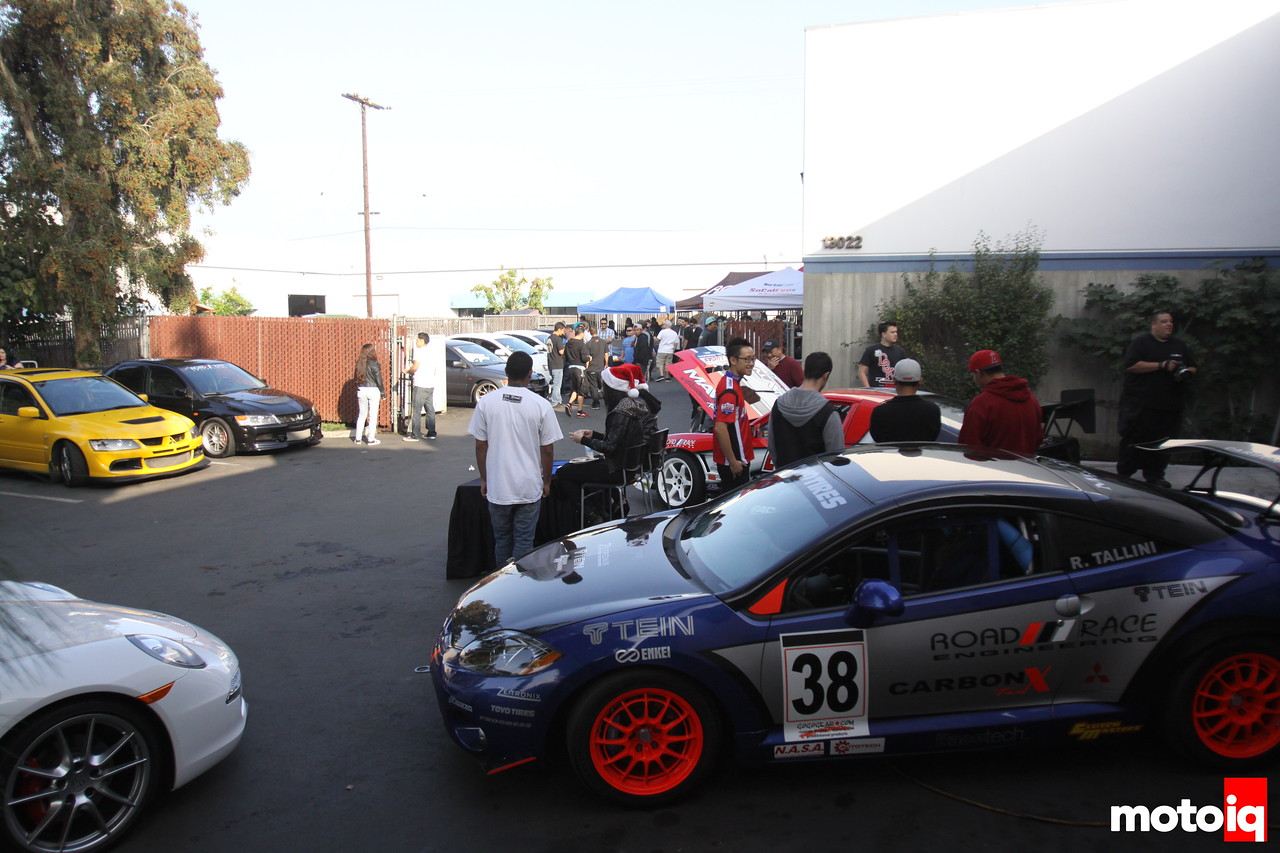 Road Race Engineering Toy Drive