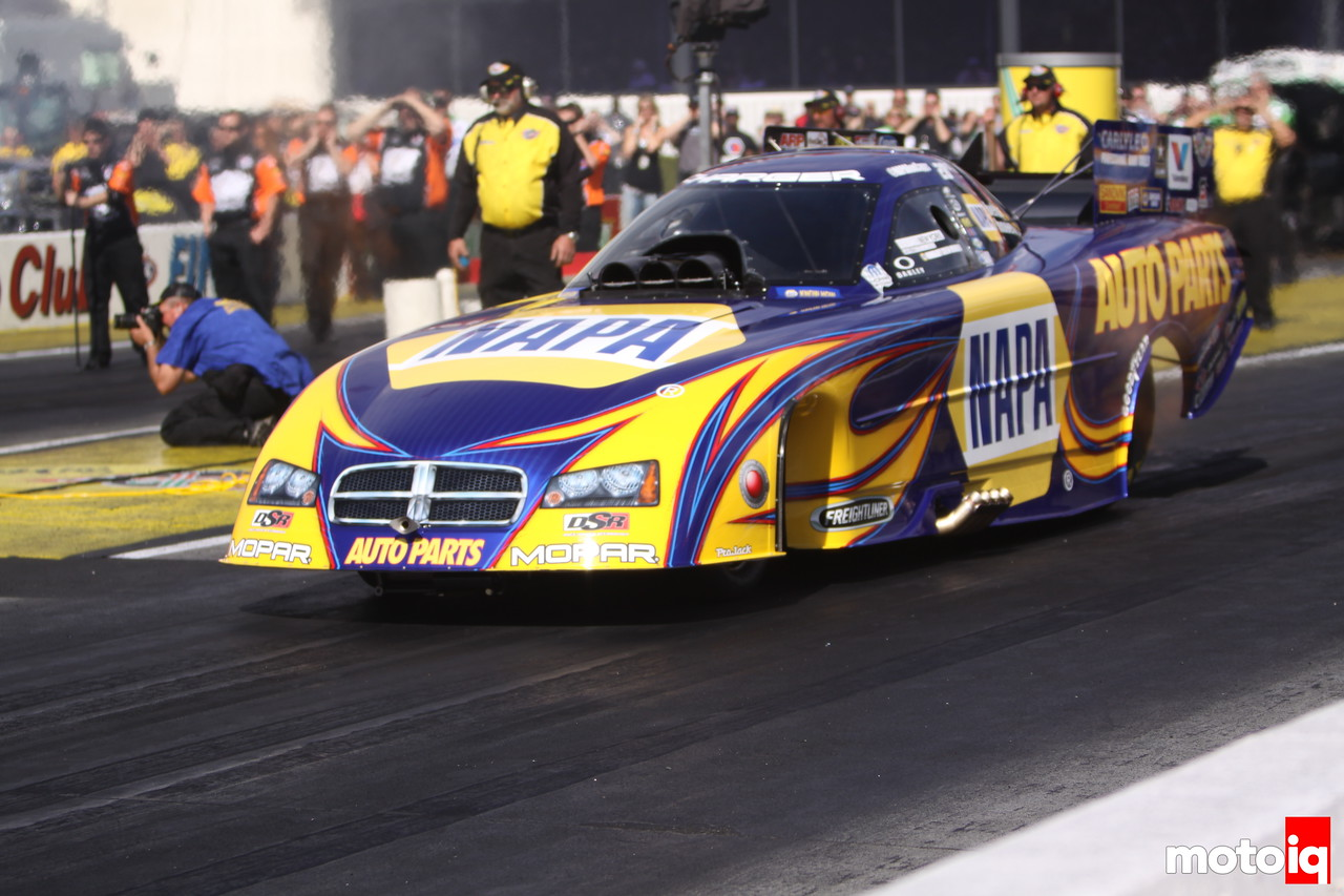 Winternationals Semi Finals Funny Car