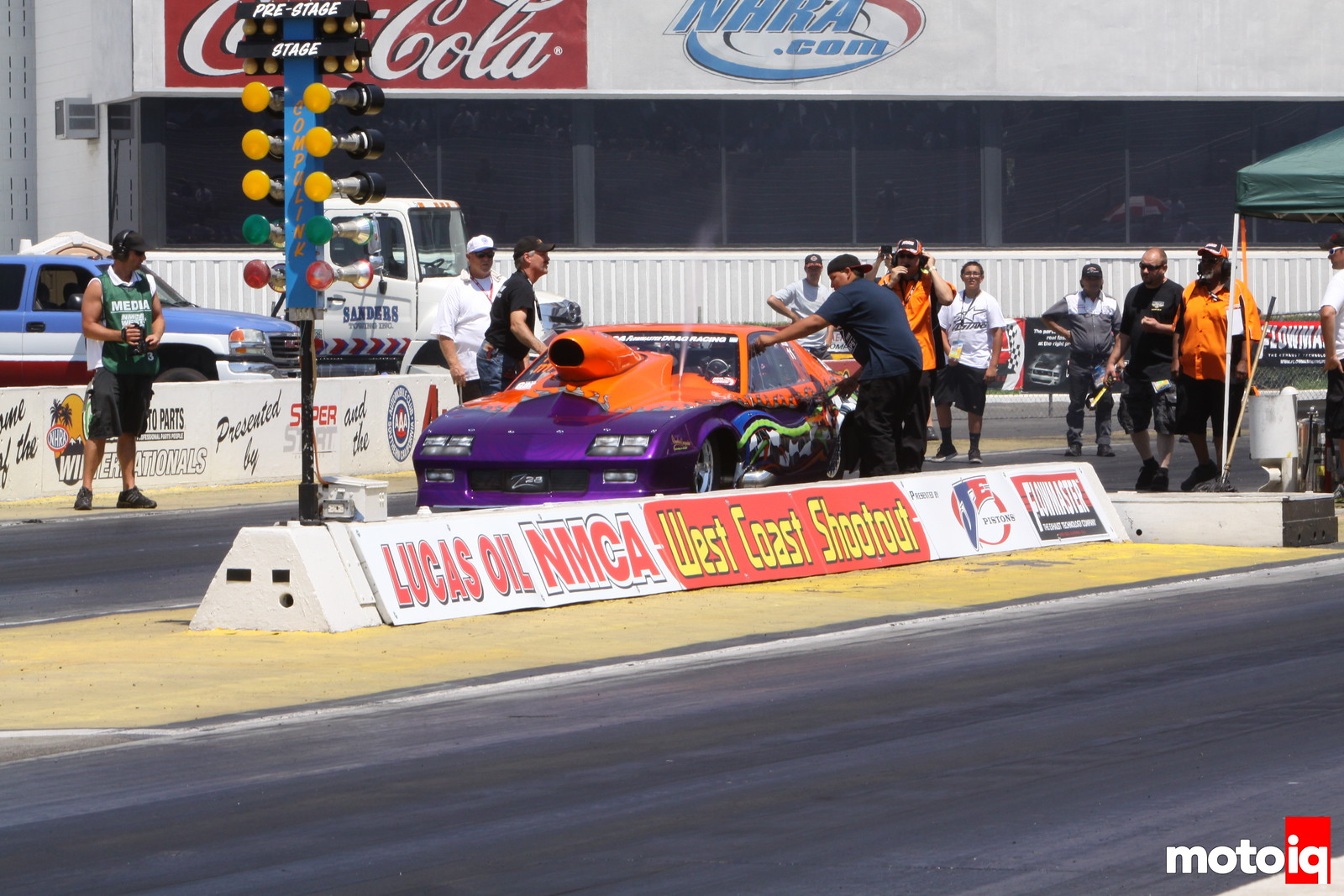 Garrett Turbo NMCA West Race Report
