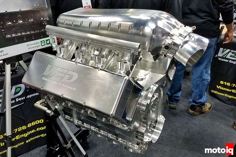 Visner Engine Development All-Billet Small Block Chevy