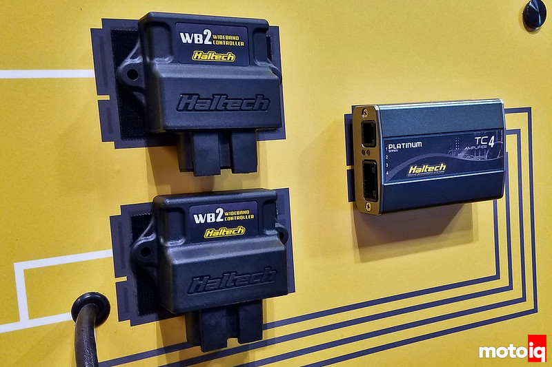 Haltech's completely redesigned wideband oxygen sensor controllers