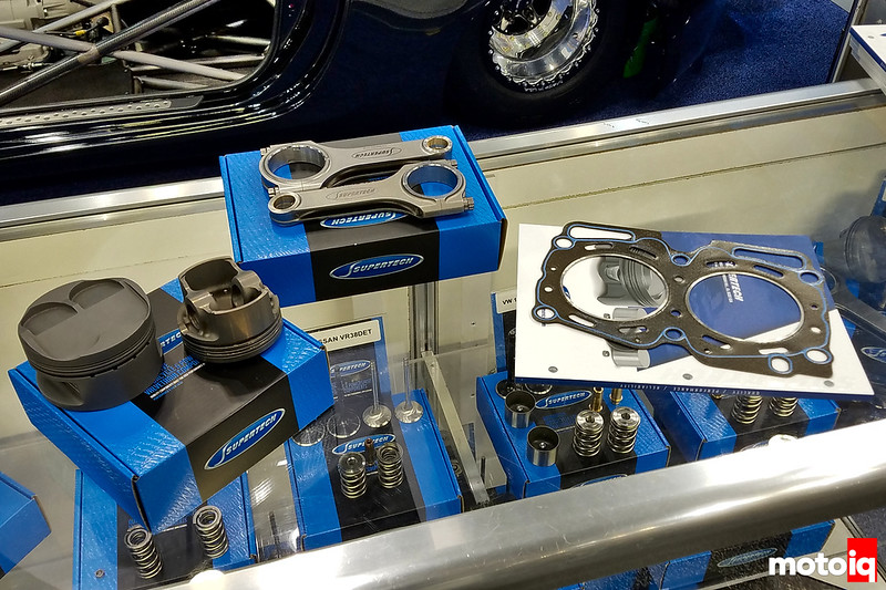 Supertech's new line of pistons, rods, and head gaskets