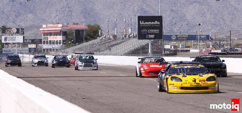 LG Corvette Lou Gigliotti circuit battle timeattack