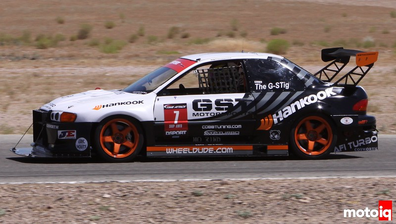 GST Motorsports Subaru Impreza G-Stig Redline Time Attack