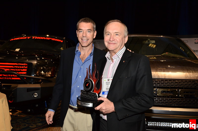 Ford F-150 SEMA award winner, Martin Smith