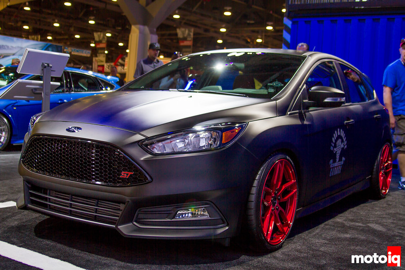 Blood & Grease Ford Focus