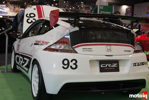 Honda CR-Z Hybrid Racer concept