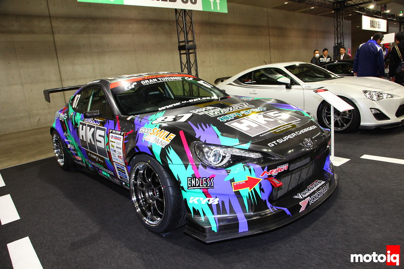 "Hey look another HKS GT86 with that ""Oil Can"" graphics package; this one a D1 entrant. Development is still in it's preliminary stages, but we look forward to updates on this GT86."