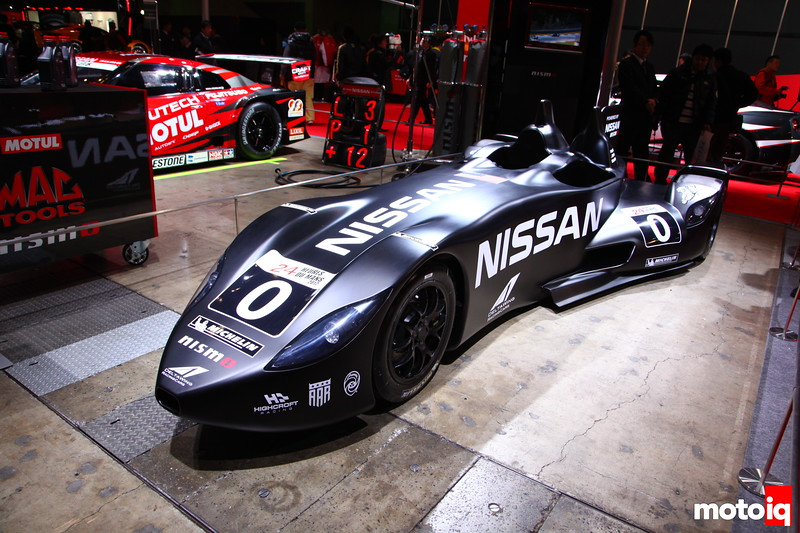 Nissan's Milestone into Le Man's racing, the Delta Wing
