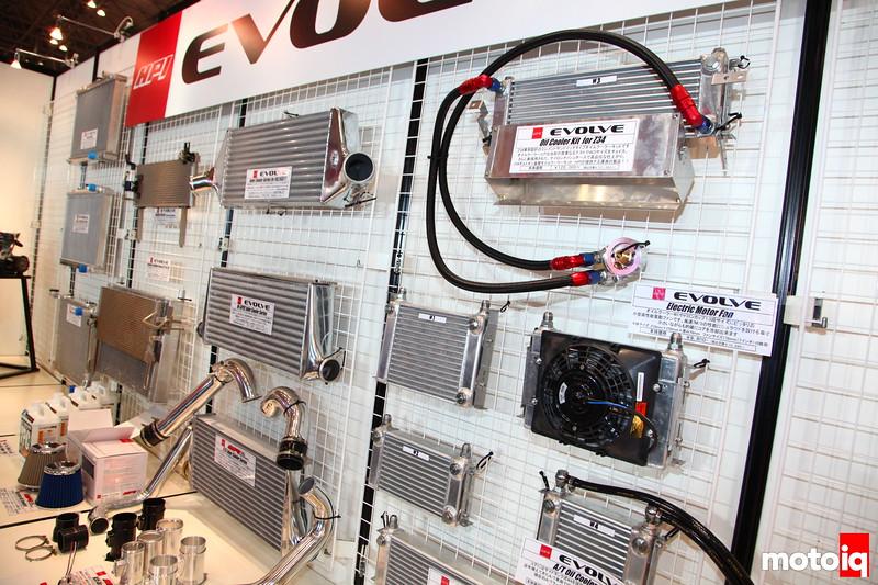 HPI Evolve: variety of heat exchangers.