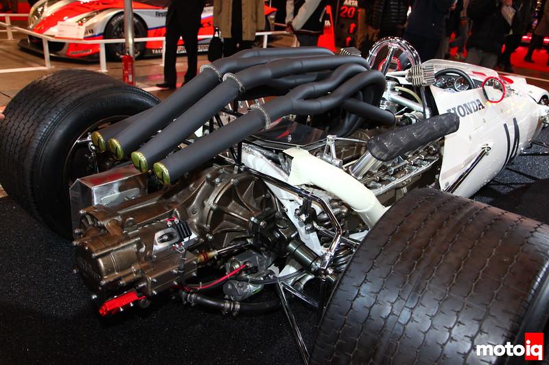 1967 RA300: Just look at them pipes!