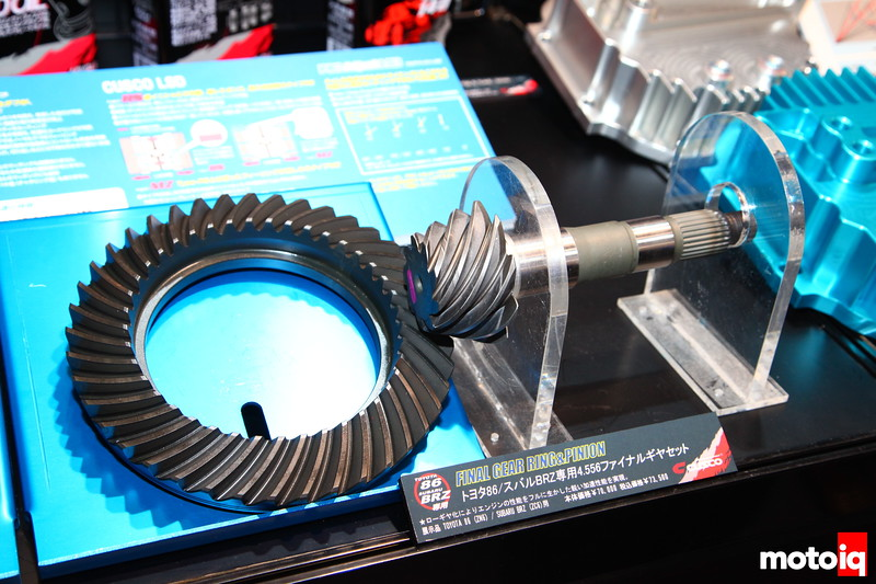 Cusco: BRZ/86 Ring and pinion set
