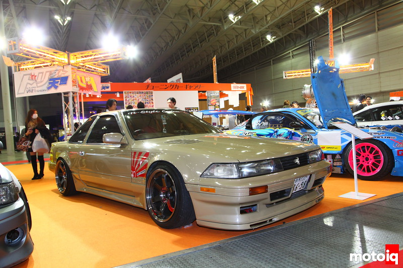The JZZ20R Soarer predecessor to the US SC300. This one by N-Style Custom houses a T04R Turbo along with other go fast goodies.