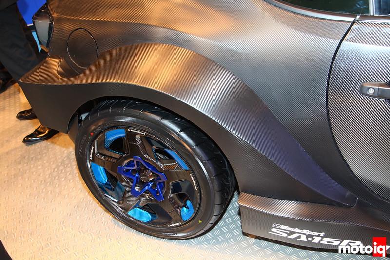 WedsSport SA-15R carbon wheel.