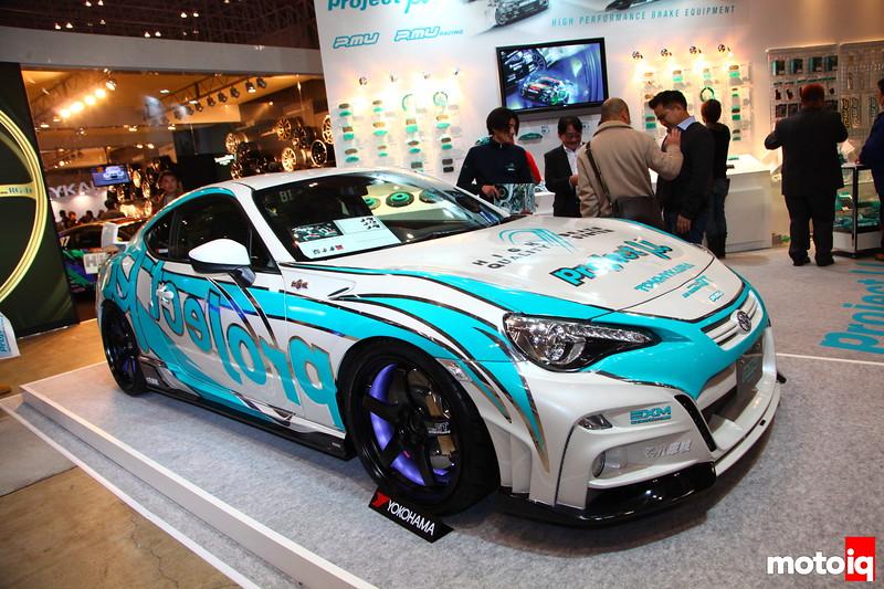 Project Mu, Yokohama Tire, Advan, and Tommy Kaira.