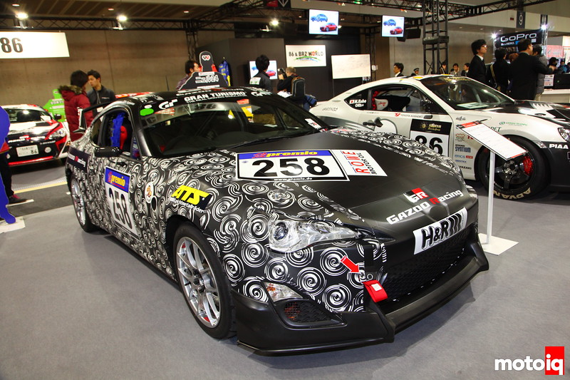 In October of 2011 this Gazoo/ATS/Gran-Turismo/H&R 86 (1 of 2) made it's mark on the 24-Hrs. of Nürburgring.
