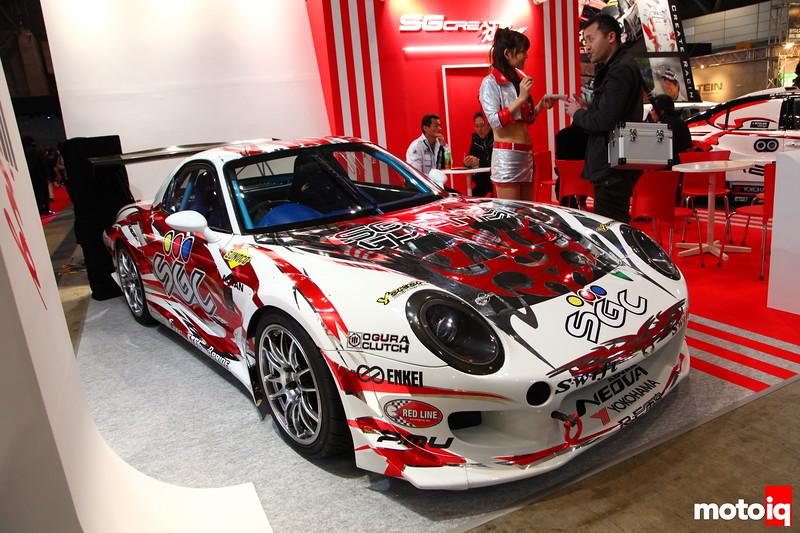 SGC FD3S with the Porsche look.