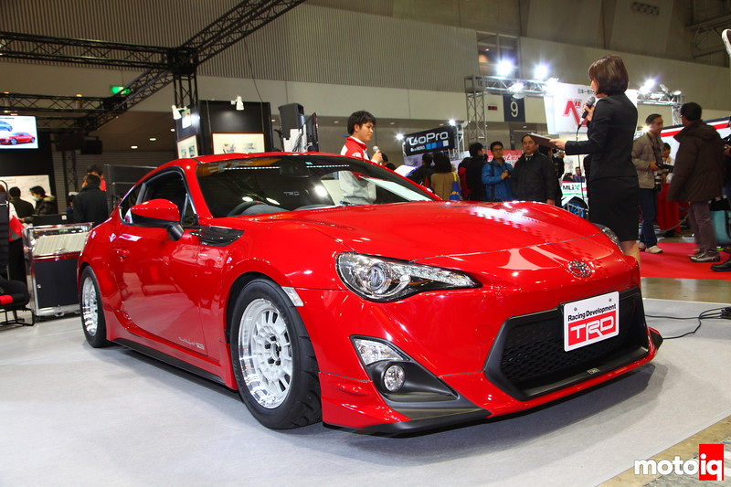 """TRD's Homage to the """"Old School"""" complete with smaller wheels and louvered rear window screen."""