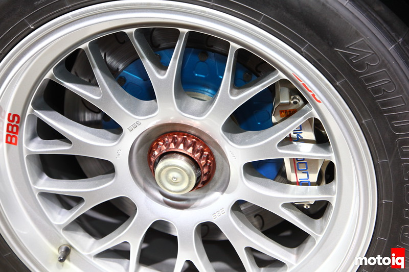 Gazoo racing LFA: Brakes big enough to stop a 16-Wheeler.