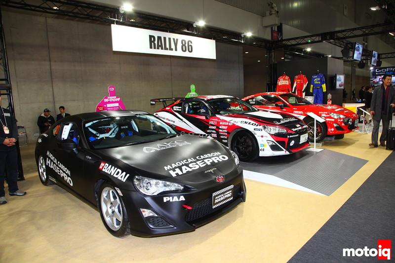 A trio of rally 86s