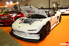 Kakimoto Racing's Super NSX: 345 HP at 6900 using 92 mm High comp pistons, 48 mm 6-trumpet ITBs, 370 cc injectors. Kakimoto-proprietary racing dampers, 370 mm Endless 6-pots.