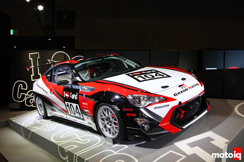 """Gazoo Racing introduces their entry into the """"One-Make"""" race."""