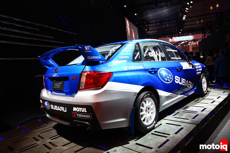 Subaru built their reputation on Rally, this one won't be on the world stage, but will compete in local Rally Japan type events.