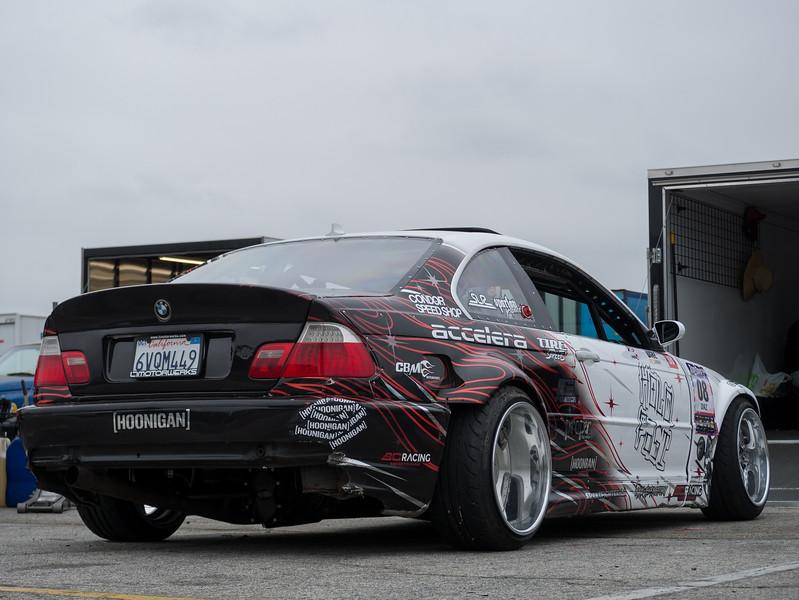 BMW E46 parked