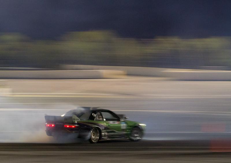 Nissan 240sx S13 drifting