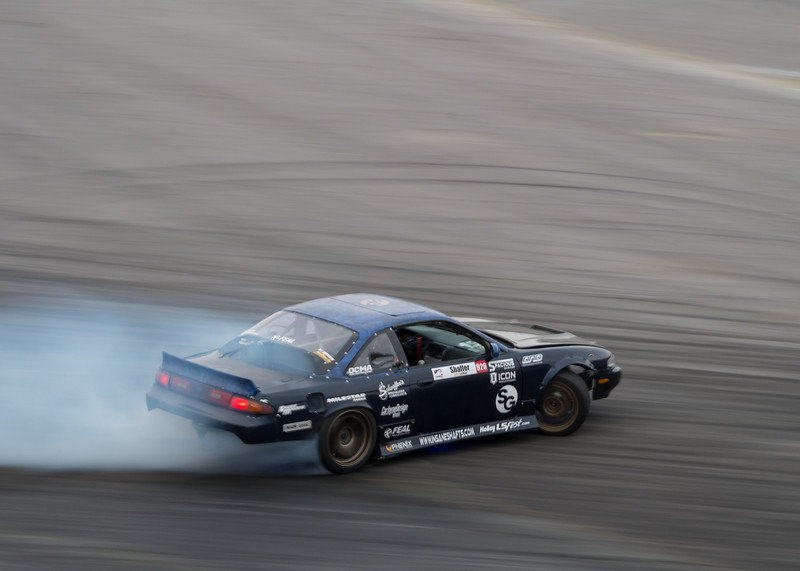 Nissan 240sx S14 drifting