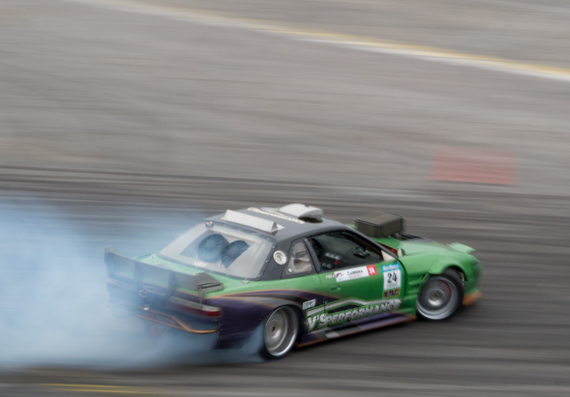 Nissan 240sx coupe drifting