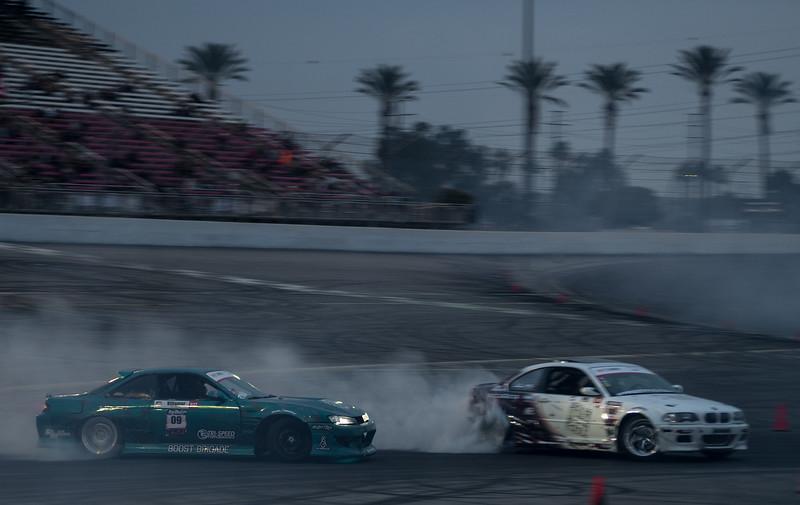 Nissan 240sx S14 Kouki and BMW E46 drifting
