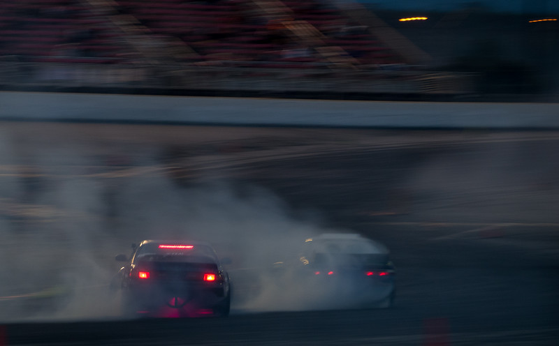 Nissan 240sx S14 and S13 drift battle
