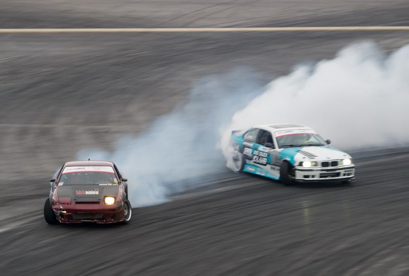 Nissan 240sx BMW E36 drifting