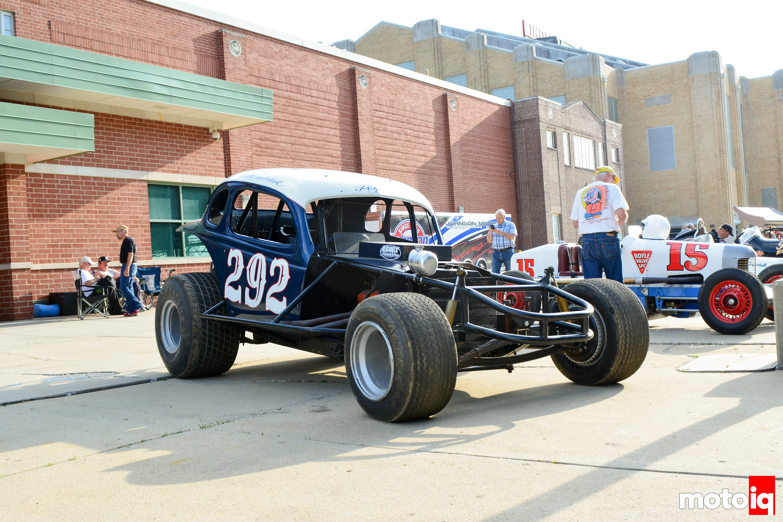 Old Oval Track Racer
