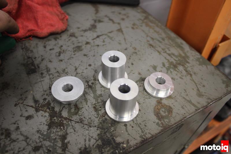 Solid Steering Rack Bushings FR-S